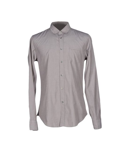 Mauro Grifoni | Gray Shirt for Men | Lyst