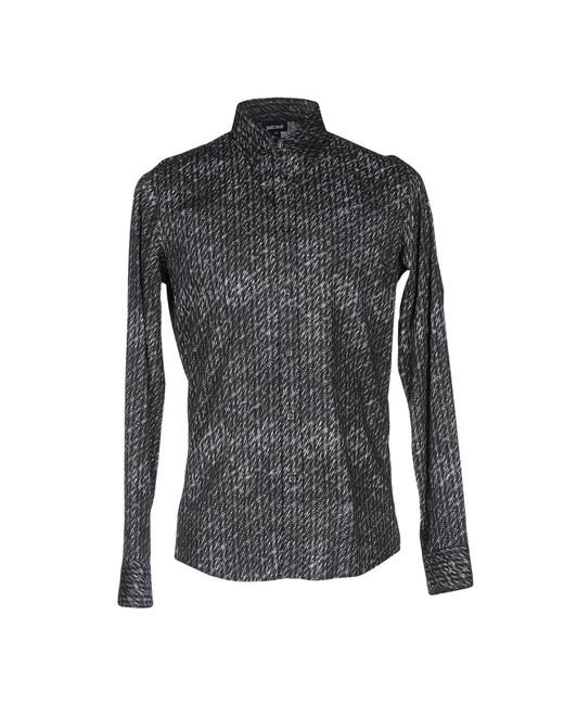 Just Cavalli | Gray Shirt for Men | Lyst