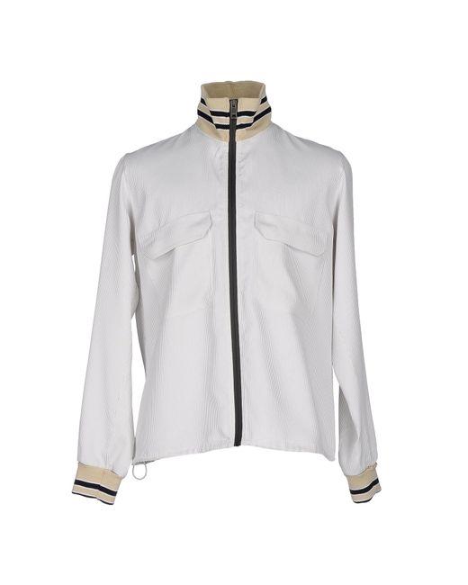 Jil Sander | White Jacket for Men | Lyst