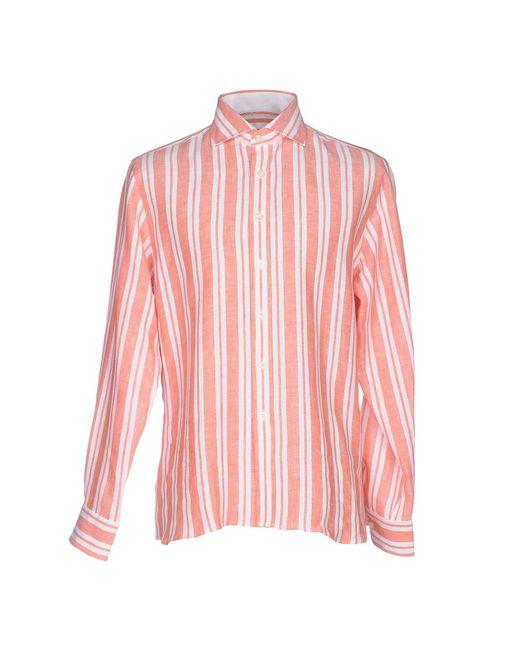 Mirto   Pink Shirt for Men   Lyst