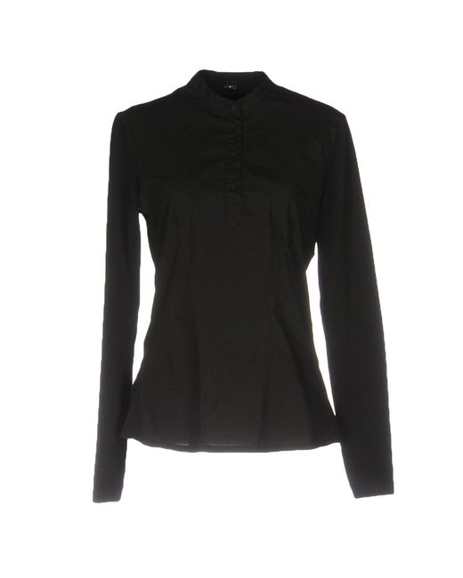 European Culture | Black Blouse | Lyst