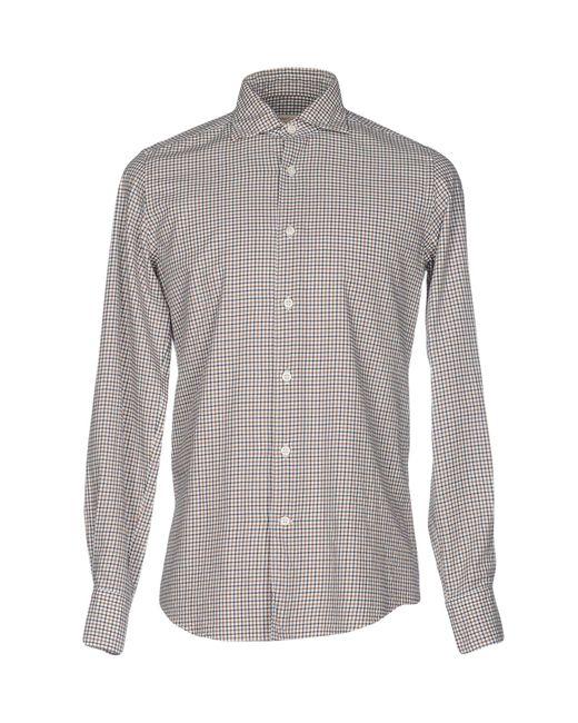 Hamptons | Natural Shirt for Men | Lyst