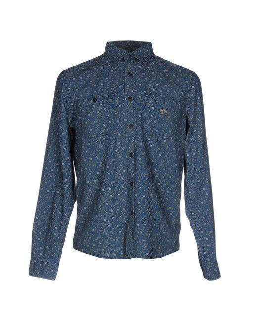 Denim & Supply Ralph Lauren   Blue Shirt for Men   Lyst