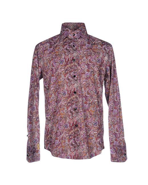 Billionaire | Purple Shirt for Men | Lyst