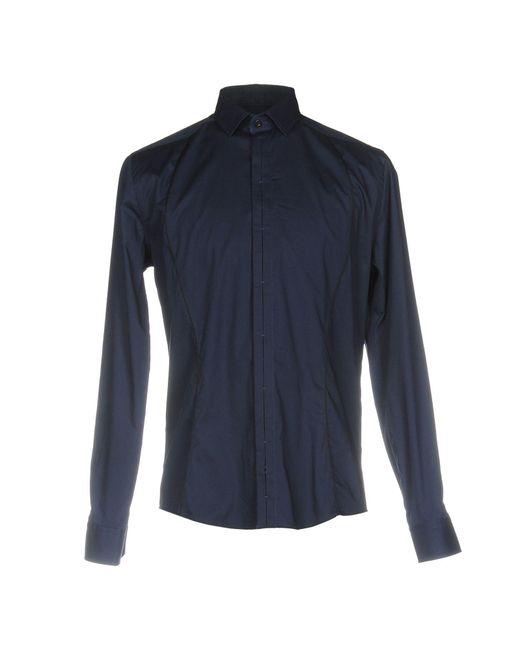 Les Hommes | Blue Shirt for Men | Lyst