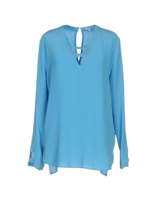Lala Berlin | Blue Blouse | Lyst