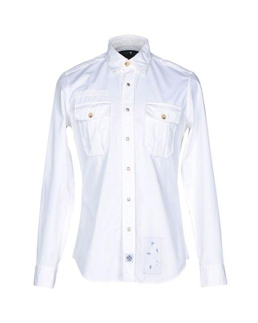 Hydrogen | White Shirt for Men | Lyst