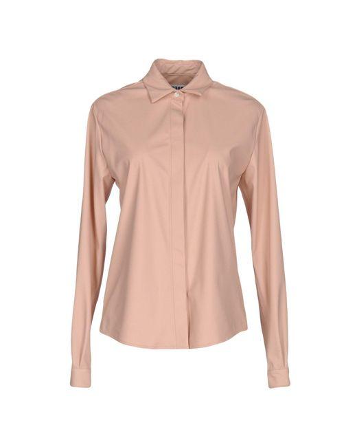 MSGM   Pink Shirt   Lyst