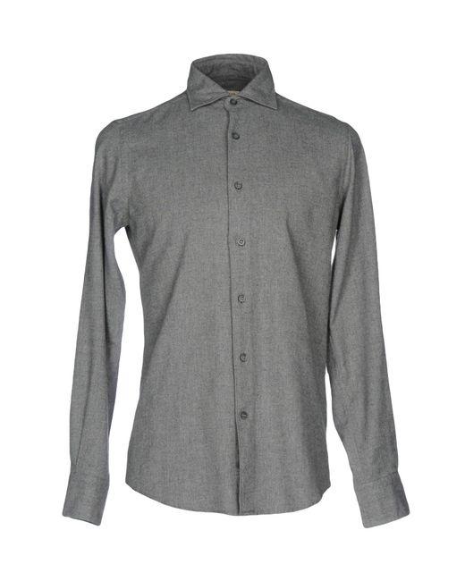 Hamptons | Gray Shirt for Men | Lyst