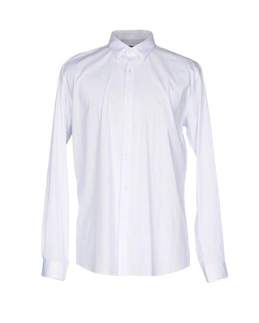 Massimo Rebecchi   White Shirt for Men   Lyst