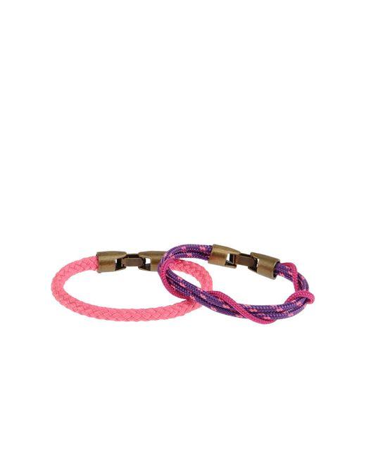 L4k3 - Purple Bracelets - Lyst