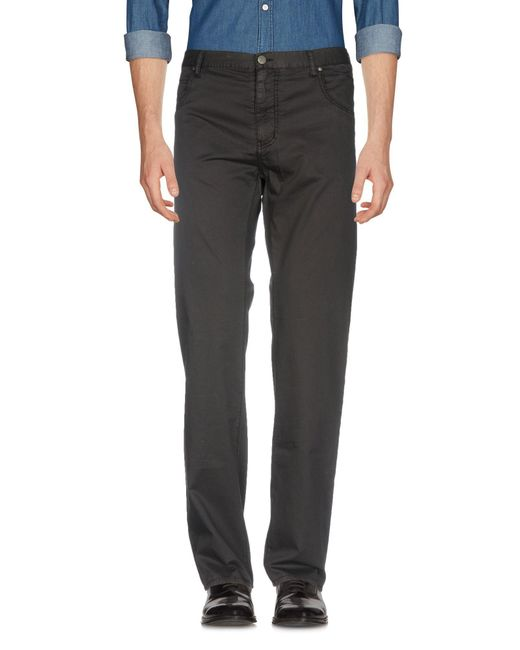 Armani Jeans - Black Casual Trouser for Men - Lyst