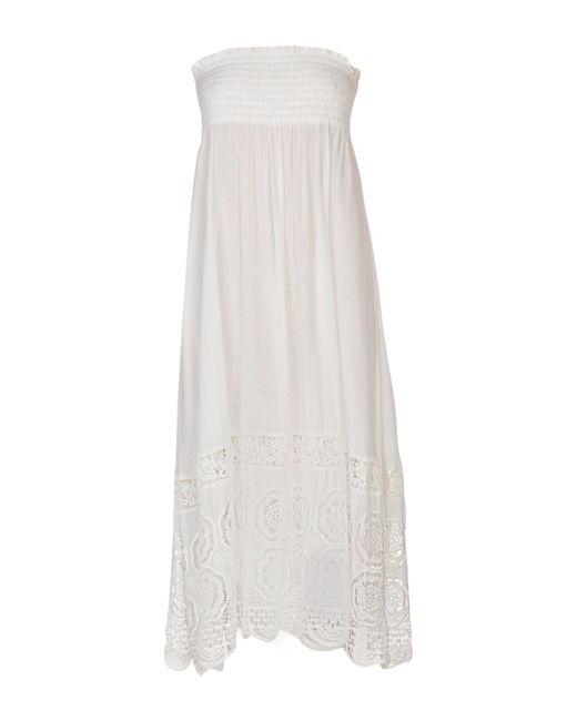 Twin Set - White Nightdress - Lyst