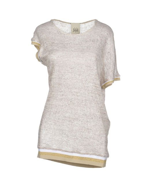 Jijil - Natural Sweater - Lyst