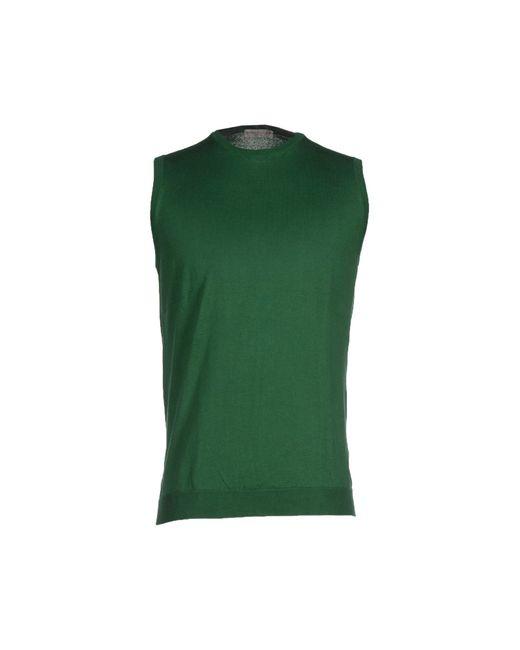 Roberto Collina | Green Jumper for Men | Lyst
