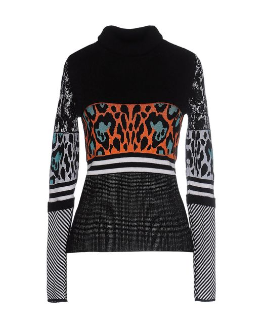 Just Cavalli | Black Turtleneck | Lyst