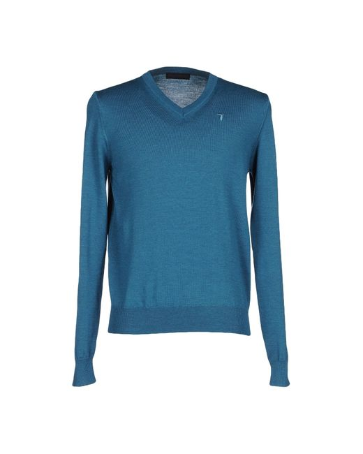 Tru Trussardi | Blue Sweater for Men | Lyst