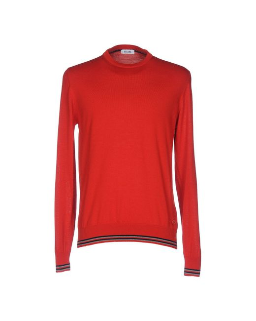Moschino | Red Jumper for Men | Lyst