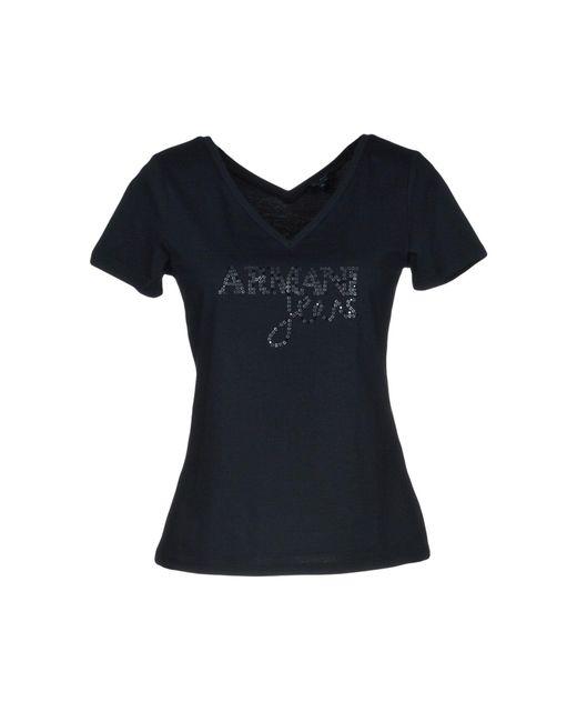 Armani Jeans - Blue T-shirts - Lyst