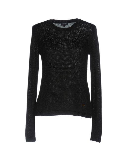 Armani Jeans | Black Sweater | Lyst