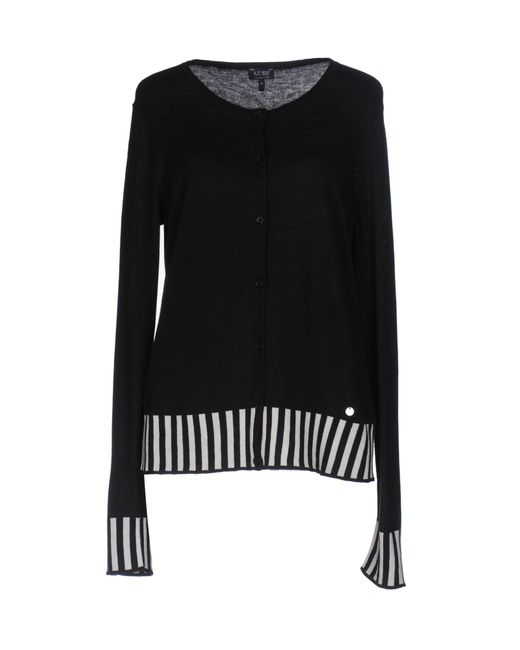 Armani Jeans | Black Sweater | Lyst