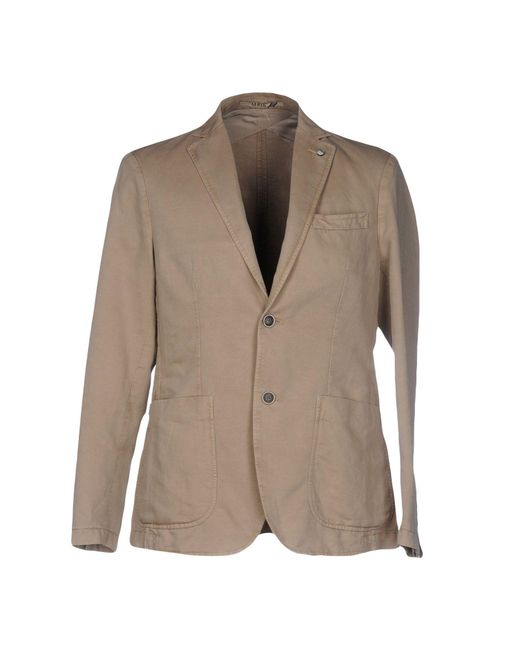 AT.P.CO - Natural Blazer for Men - Lyst