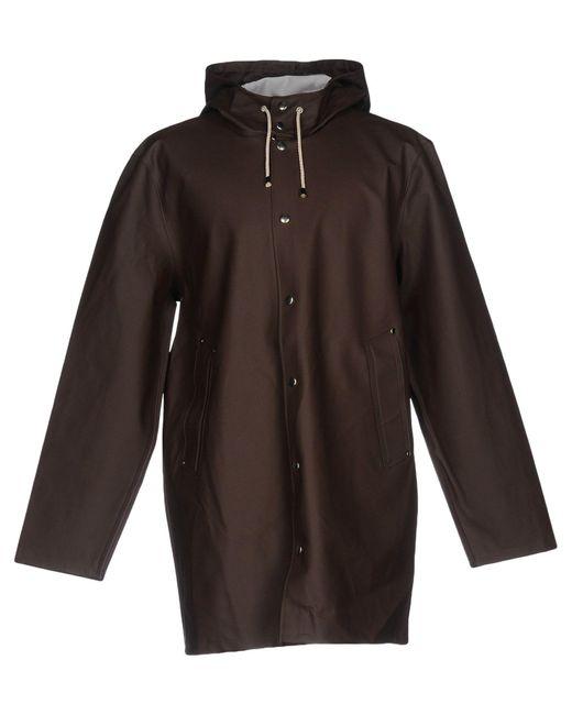 Stutterheim - Brown Overcoat - Lyst