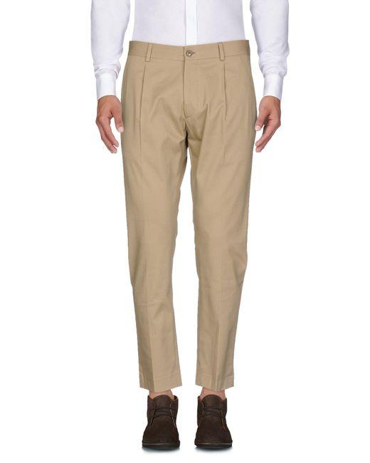 26.7 Twentysixseven - Natural Casual Pants for Men - Lyst