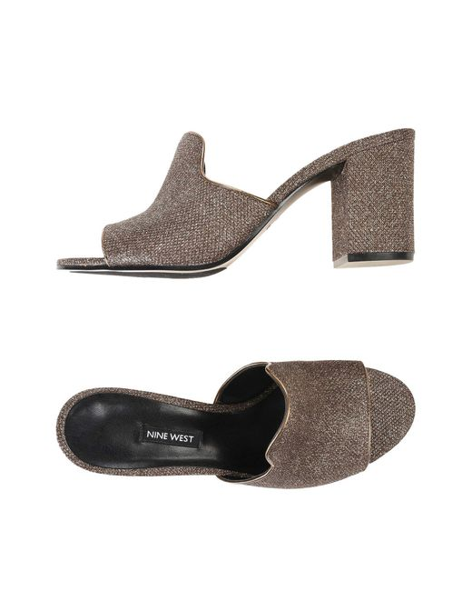 Nine West - Brown Sandals - Lyst