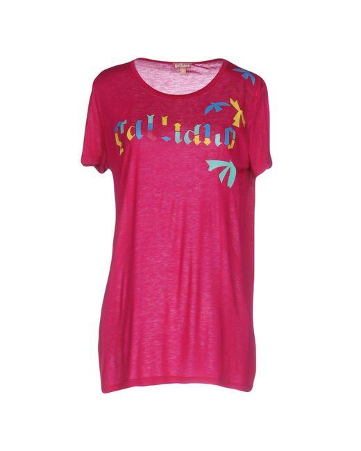 John Galliano | Pink T-shirt | Lyst