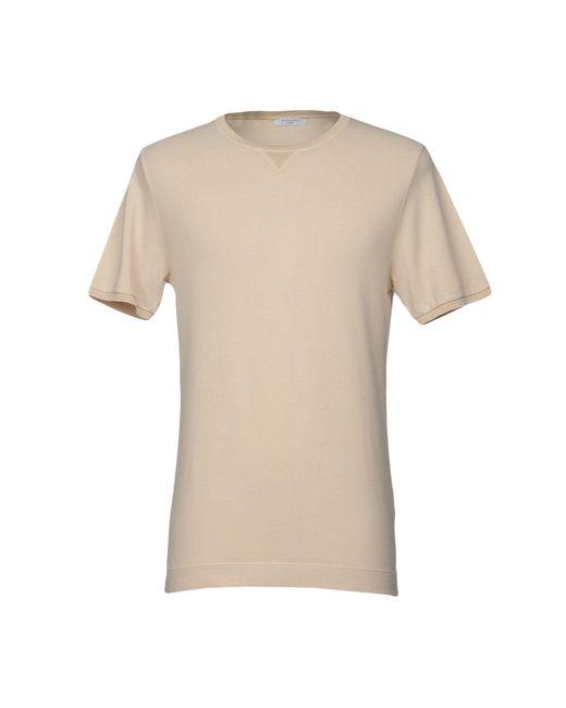 Boglioli - Natural T-shirt for Men - Lyst