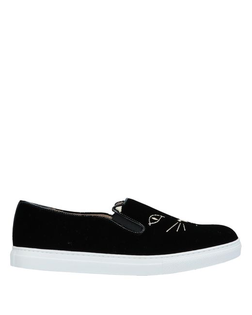 Charlotte Olympia - Black Low-tops & Sneakers - Lyst