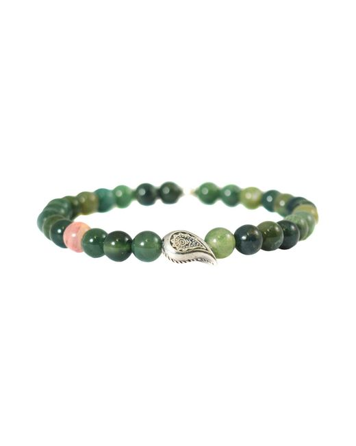 THE JAAR - Green Bracelets for Men - Lyst
