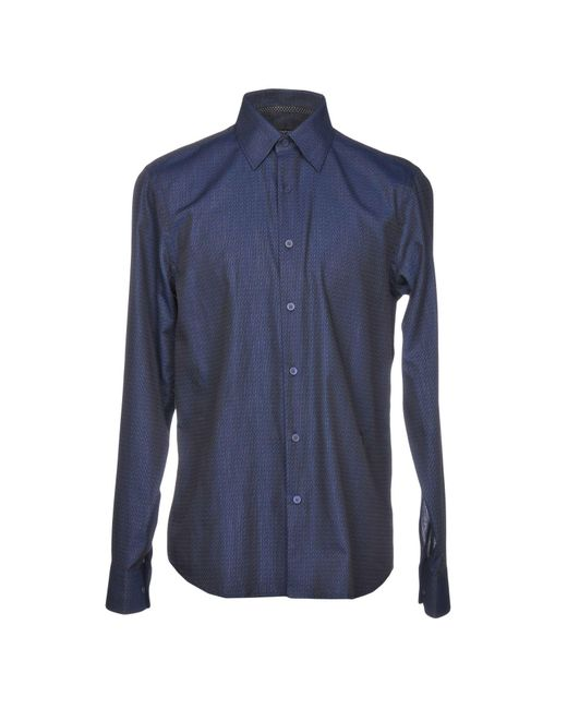 Givenchy - Blue Shirts for Men - Lyst