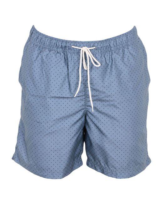 SELECTED - Blue Swimming Trunks for Men - Lyst