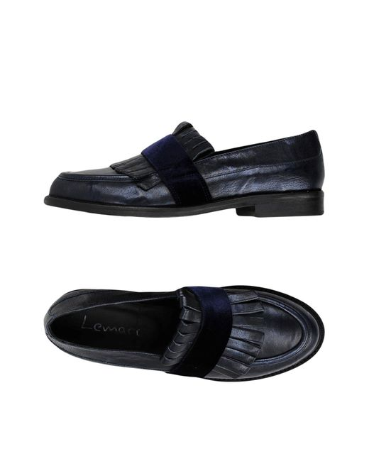 Lemarè - Blue Loafer - Lyst