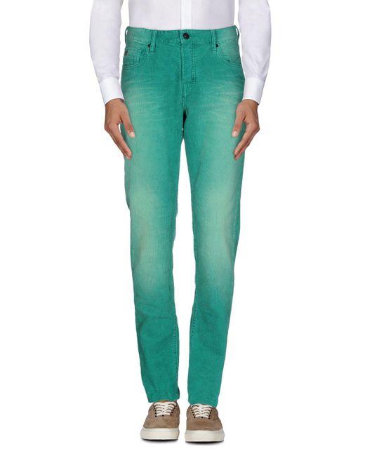 Scotch & Soda - Green Casual Pants for Men - Lyst