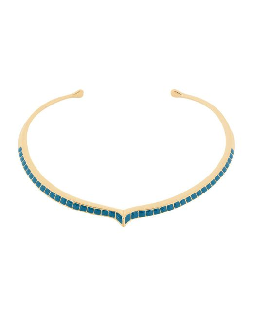 Aurelie Bidermann - Metallic Necklace - Lyst