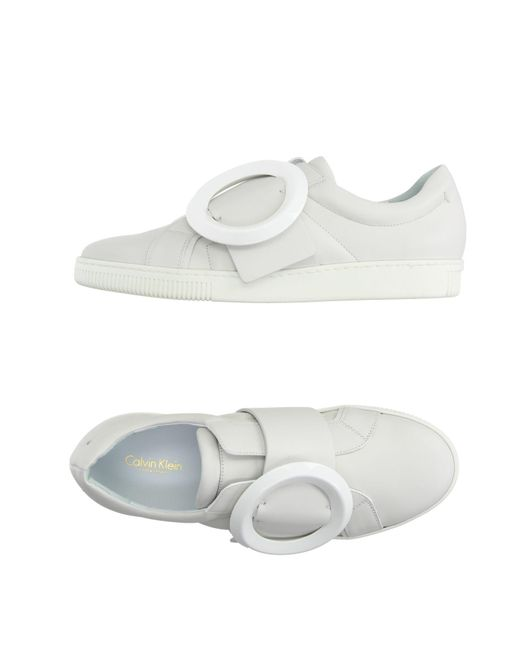 Calvin Klein | White Low-tops & Sneakers | Lyst