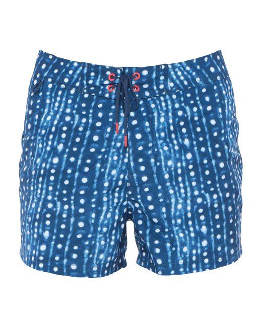 Sundek - Blue Swimming Trunks for Men - Lyst