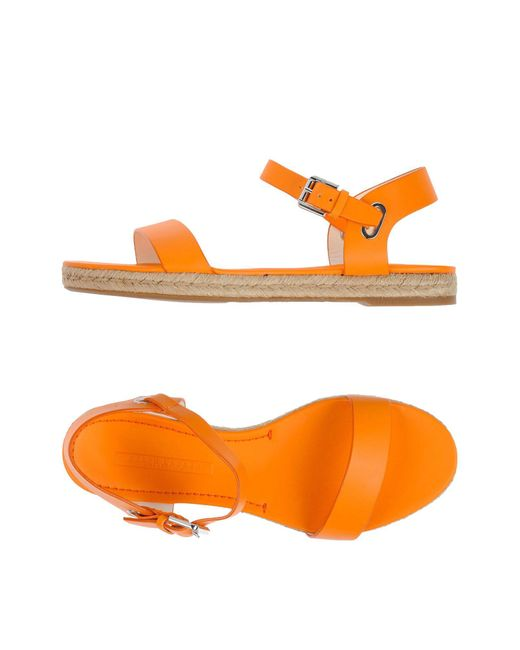 Ralph Lauren - Orange Sandals - Lyst