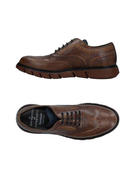 Barracuda Lace Shoes Homme Brown c8iVlz