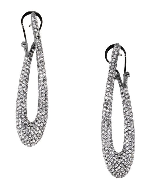 Noir Jewelry - White Earrings - Lyst
