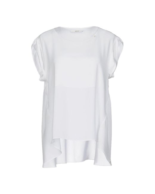 Replay - White Top - Lyst