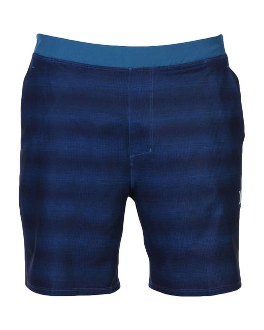 Hurley - Blue Beach Shorts And Trousers for Men - Lyst