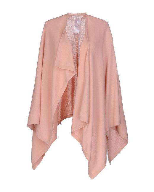 dorothee schumacher cloak in beige pink lyst. Black Bedroom Furniture Sets. Home Design Ideas