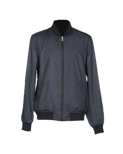 Atelier scotch jacket in black for men lyst for Atelier maison scotch