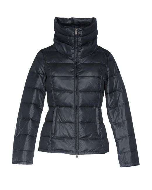 Bomboogie | Blue Down Jacket | Lyst