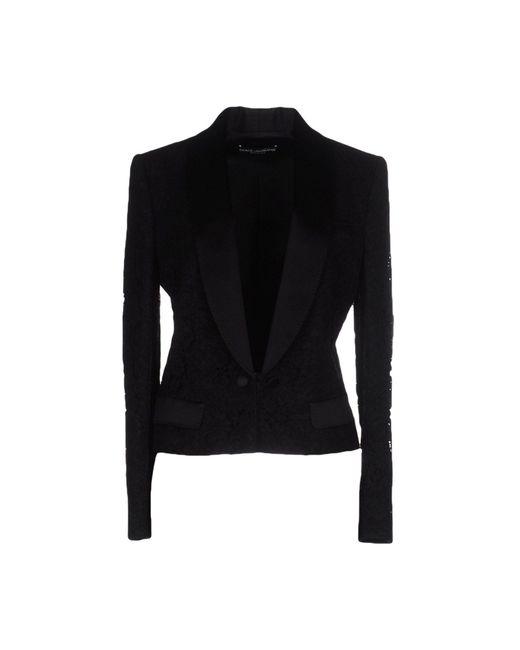 Dolce & Gabbana   Black Blazer   Lyst