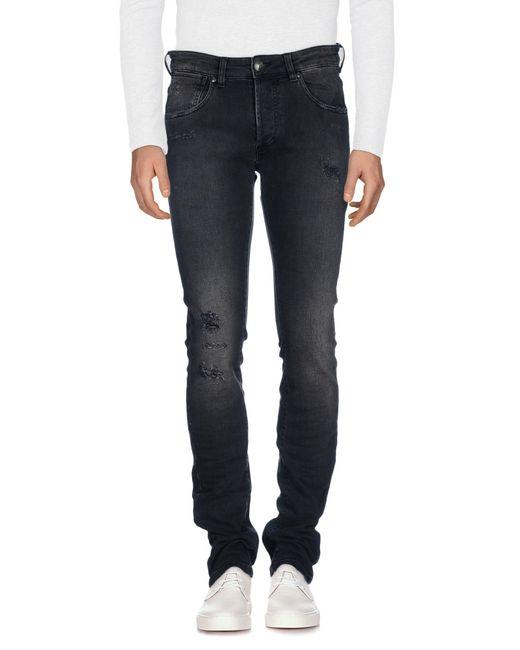 Balmain - Black Denim Pants for Men - Lyst